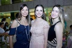 Renata Cabral, Sarah Rolim e Livia Pontes