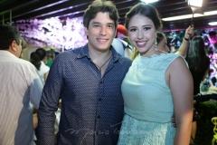 Ricardo Rios e Carolina Philomeno