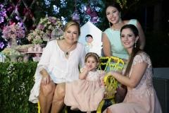 Sarah Philomeno, Maria Paula e Sarah Rolim e Carolina Philomeno