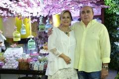 Sarah Philomeno e Walkmar Santos