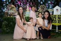 Sarah e Maria Paula Rolim e Rafel Neto , Sara e Priscila Leal