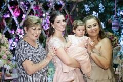 Zeneida, Sarah, Maria Paula e Alexandra Rolim