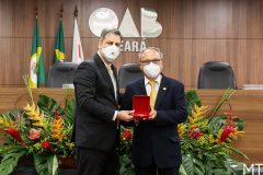 Homenagem Medalha Advogado Padrão Edgar Cavalcante Arruda