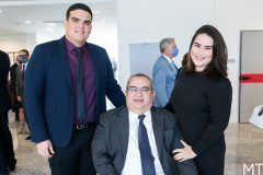 Ramon Barreto, Betoven e Brenda Rodrigues