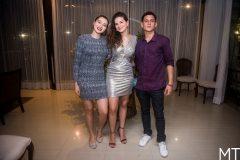 Amanda Monteiro, Mariana Holanda e Lucas Barreto