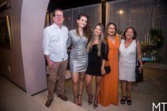 João Borges, Mariana Holanda, Júlia Borges, Aldira e Dudu Borges