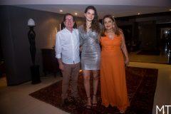 João Borges, Mariana Holanda e Aldira Borges
