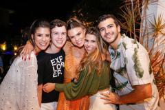 Marcela, Fredinho, Mariana, Júlia e Felipe Pinto