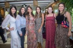 Flávia e Carla Laprovitera, Luma Sales, Mariana Brasil, Maina Bezerra e Antonieta Lima
