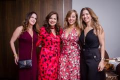 Adriana Bezerra, Martinha Assunção, Letícia Macedo e Karmilse Marinho