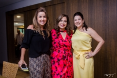 Ana Vládia Sales, Martinha Assunção e Luciana Lobo