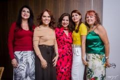 Cândida Portela, Cláudia Alexandre, Martinha Assunção, Lorena Pouchain e Fátima Duarte