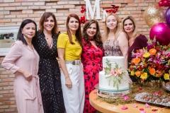 Cláudia Fujita, Cristiane Faria, Lorena Pouchain, Martinha Assunção, Sandra Fujita e Germana Cavalcante