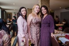 Cláudia, Sandra Fujita e Cláudia Gradvohl