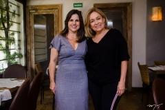 Erika Albuquerque e Rejane Porto