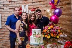 George, Paulinha, Martinha e Thiago Assunção