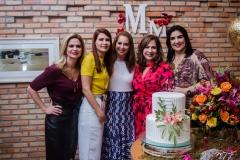 Germana Cavalcante, Lorena Pouchain, Márcia Andréa, Martinha Assunção e Izabele Leitão