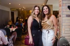Karmilse Marinho e Gena Campos