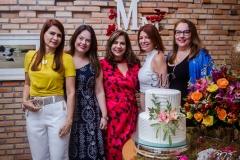 Lorena Pouchain, Erika Girão, Martinha Assunção, Suzane Farias e Luiziane Cavalcante