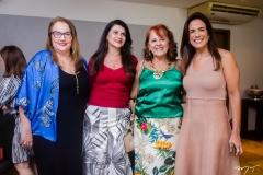 Luiziane Cavalcante, Cândida Portela, Fátima Duarte e Ana Virgínia Martins