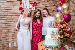 Marjorie Marshall, Martinha Assunção e Vivian Albuquerque