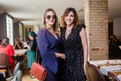 Michelle Aragão e Cristiane Faria