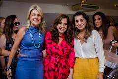Monique Barreira, Martinha Assunção e Márcia Travessoni