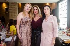 Sandra Fujita, Germana Cavalcante e Cláudia Fujita