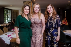 Suyane Dias Branco, Sandra Fujita e Paula Barreira