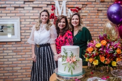 Taís Pinto, Martinha Assunção e Suyane Dias Branco