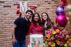 Thiago, Martinha e Paulinha Assunção