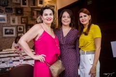 Vânia Viana, Cláudia Gradvohl e Lorena Pouchain