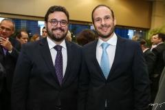 Alcimor Rocha e André Parente