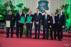 Alemberg Quindins, Ciro Gomes, Carlos Jereissati, Camilo Santana, Napoleão Maia, Valton Leitão e Eduardo Loureiro Júnior