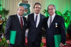 Carlos Jereissati, Camilo Santana e Ciro Gomes