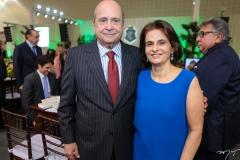 Carlos e Lia Jereissati