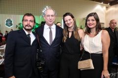 Ciro Saboya, Ciro, Lia e Lívia Ferreira Gomes