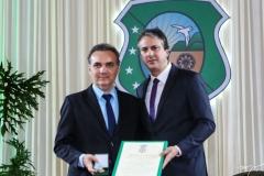 Eduardo Loureiro Júnior e Camilo Santana