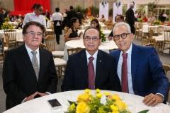 Eimar Amoreira, Clécio Magalhães e Paulo Ponte
