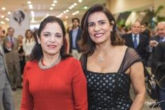 Elusa Laprovitera e Márcia Teixeira