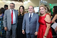 Eudoro Santana, Carol Bezerra, Roberto Cláudio e Iracema do Vale