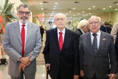 Eudoro Santana, Paulo Bonavides e Ubiratan Aguiar