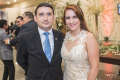 Fred Bandeira e Djane Queiroz