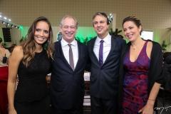 Giselle Bezerra, Ciro Gomes, Camilo Santana e Onélia Leite
