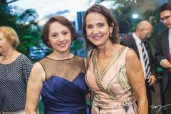 Iduina Menezes e Izolda Cela