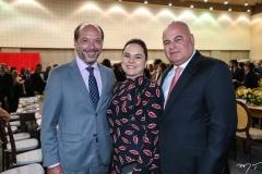 Ivo Ferreira Gomes, Denise e Luciano Cavalcante