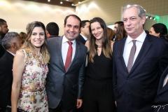 Jamile e Salmito Filho, Lia e Ciro Ferreira Gomes