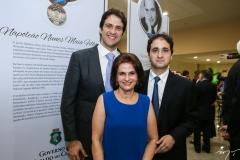 João Ary, Lia Jereissati e Rodrigo Ary