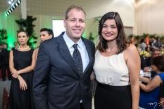 Jorge Albuquerque e Lívia Ferreira Gomes