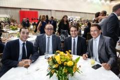 Leonardo Araújo, Tin Gomes, Evandro Leitão e Elpídio Nogueira